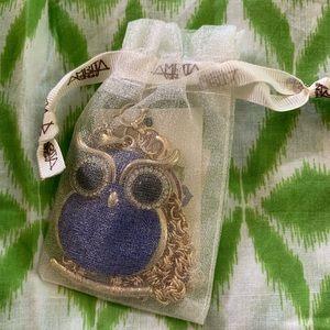 Amrita Singh Jewelry - Amrita Singh Blue Owl necklace